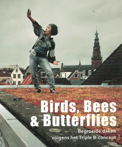 Detail cover boekje Birds, Bees & Butterflies