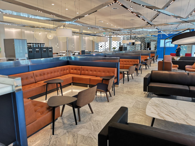KLM Crown Lounge (bron: deerns.nl)